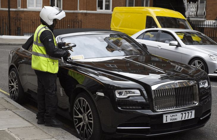 Arab supercars overtake streets of Central London
