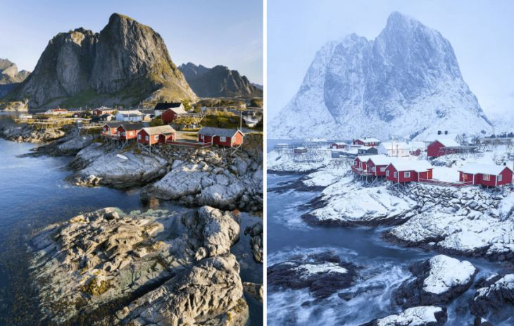 10 beautiful places transformed by winter