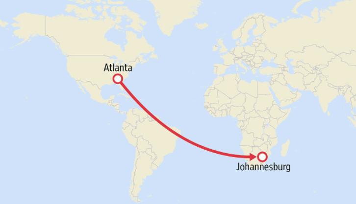 Top 10 longest plane rides