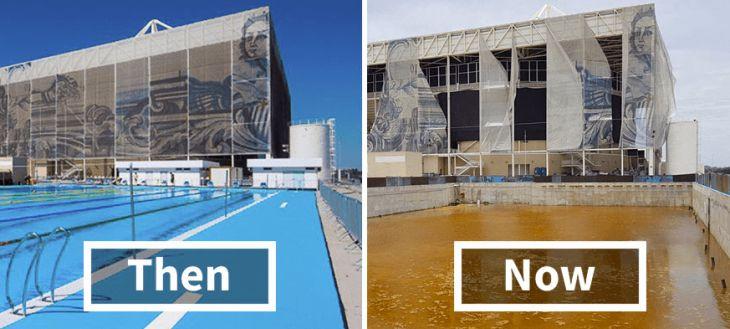 Rio de Janeiro six months after Olympics