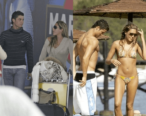 Girlfriends of Cristiano Ronaldo