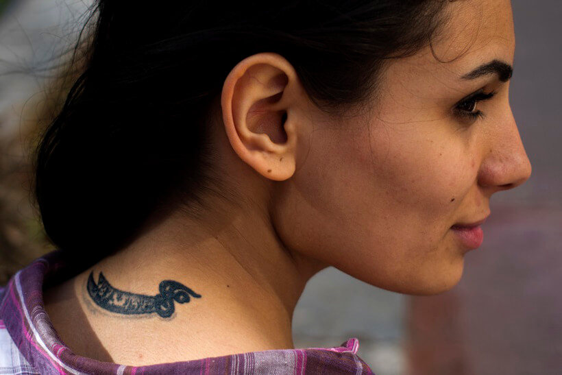 Shiite muslim tattoos in Lebanon