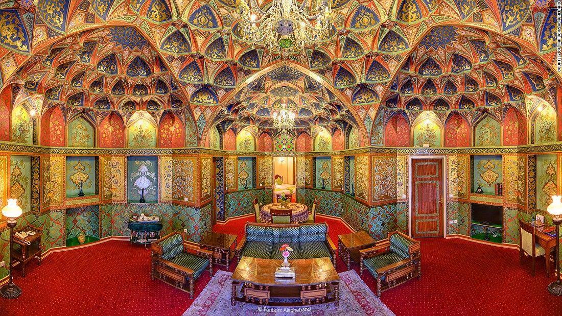 The most beautiful hotel in Iran