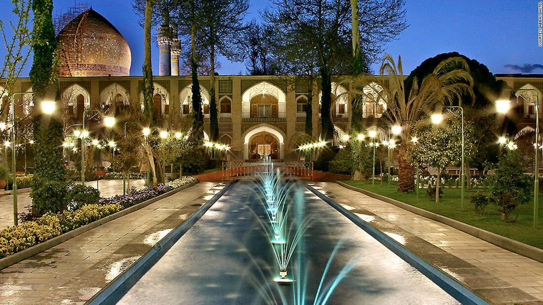 The most beautiful hotel in Iran