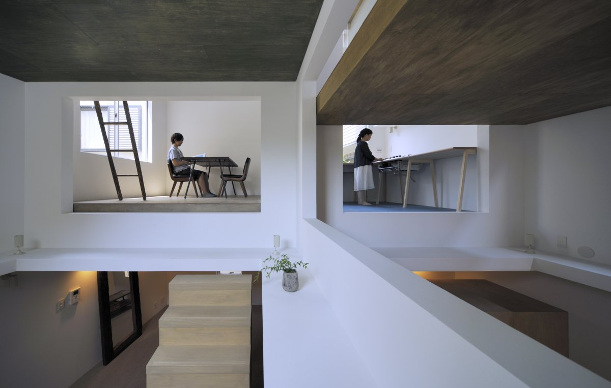 Amazing compact 'Ninja' house in Japan