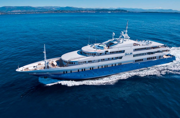 $2million a week Superyatch for hire