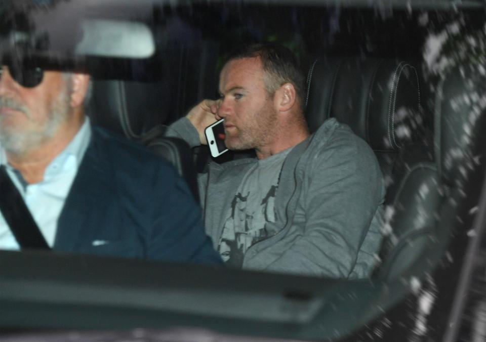 Wayne Rooney arrested for DUI