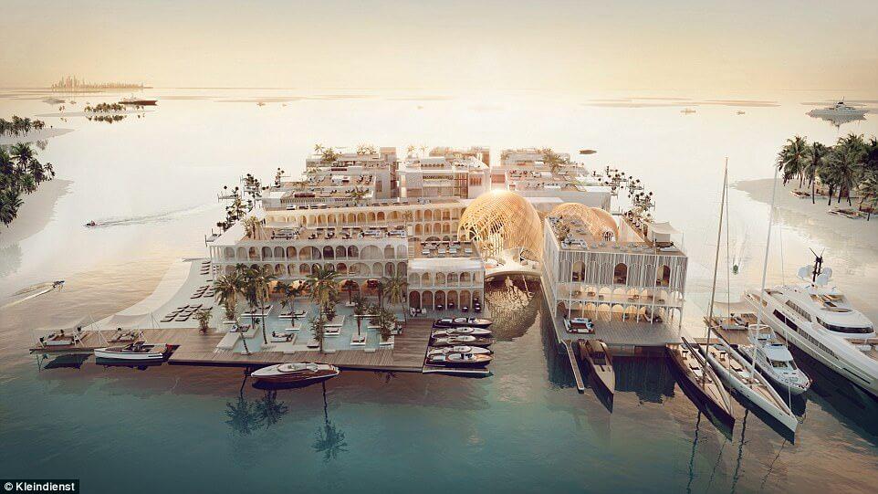 Dubai unveils plans to create floating Venice