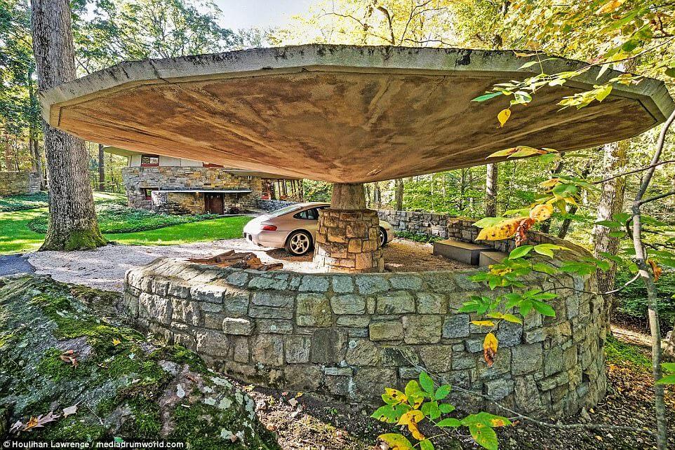 $1.6m mushroom shaped house in New York