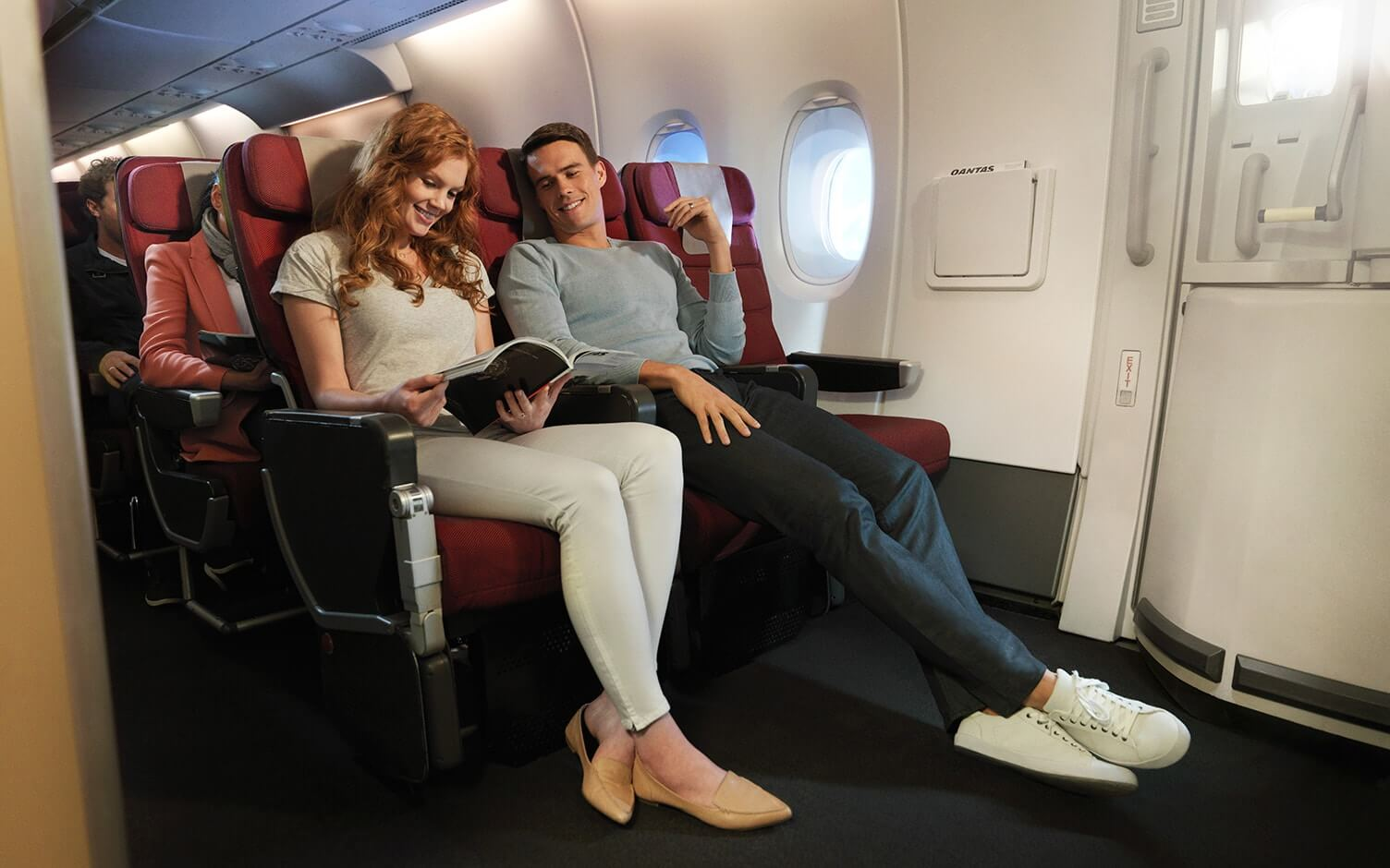 Top 7 airline economy class cabins