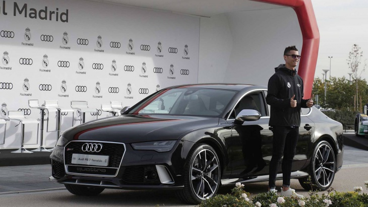 Real Madrid players get free new Audis