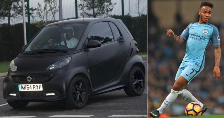Premier league stars humble cars
