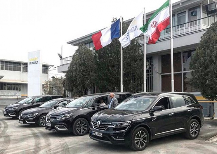 Brand new 2017 Renaults in Iran