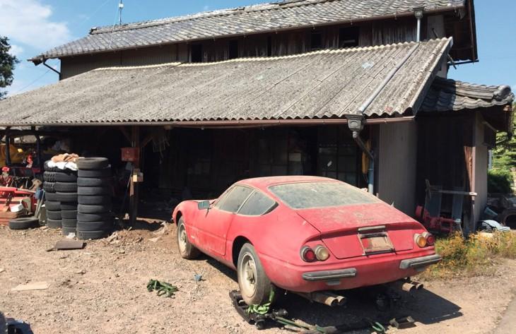 Rare 'barn find' Ferrari sells for $2mill