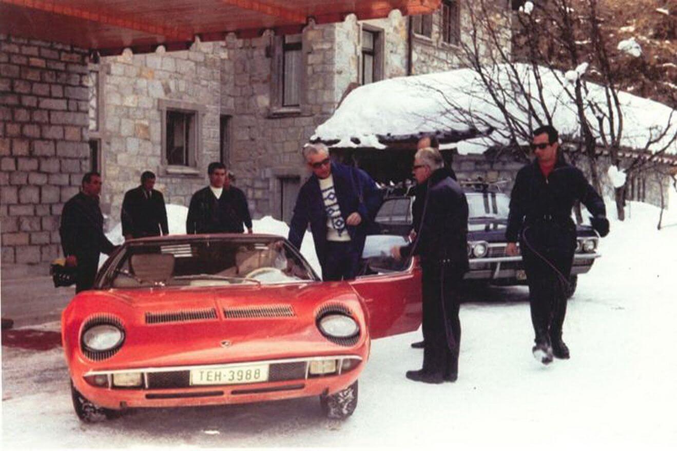 Shah of Iran's incredible supercars