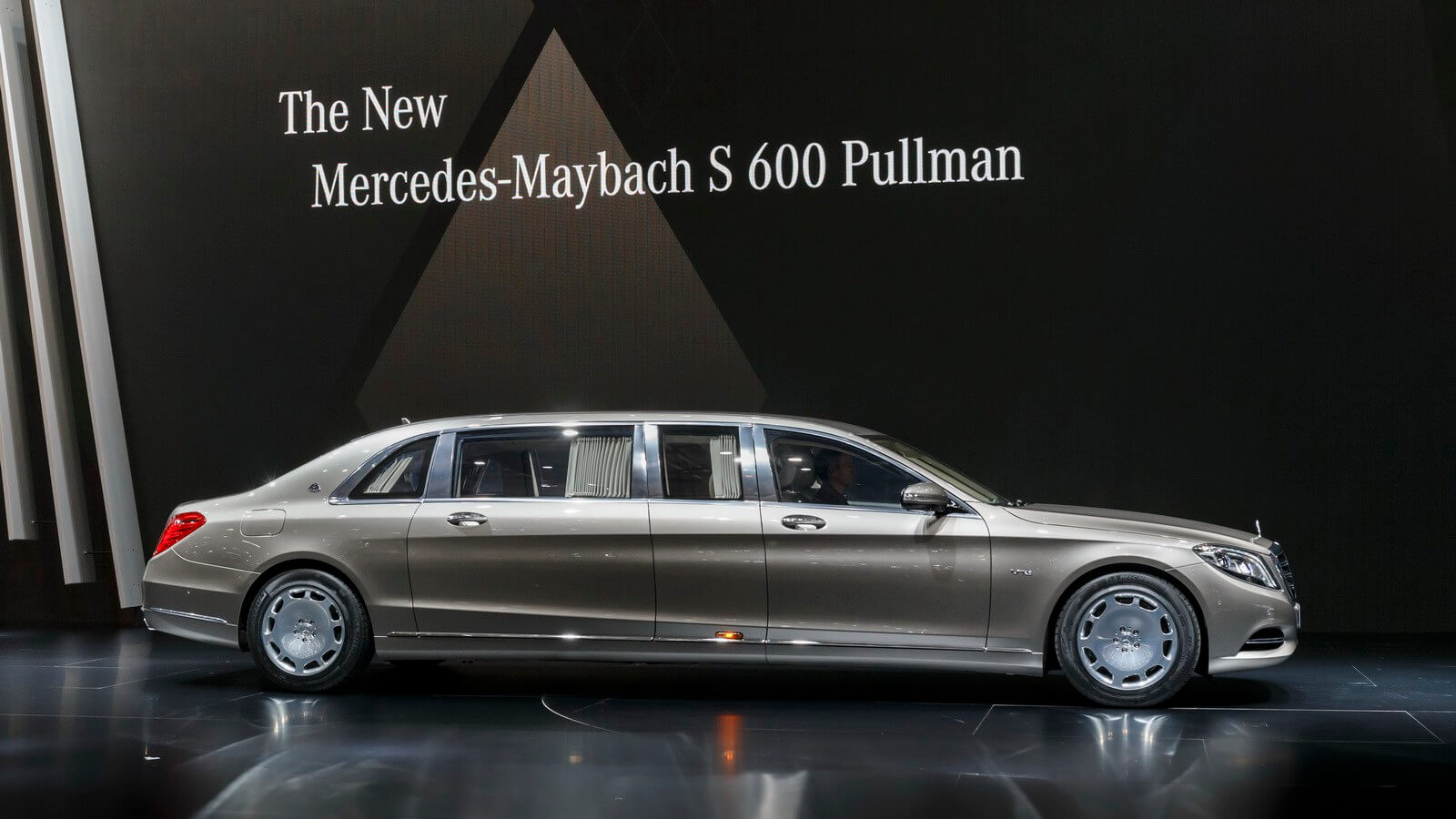 New Mercedes bullet-proof limo