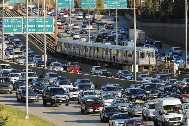 US cities with worst traffic