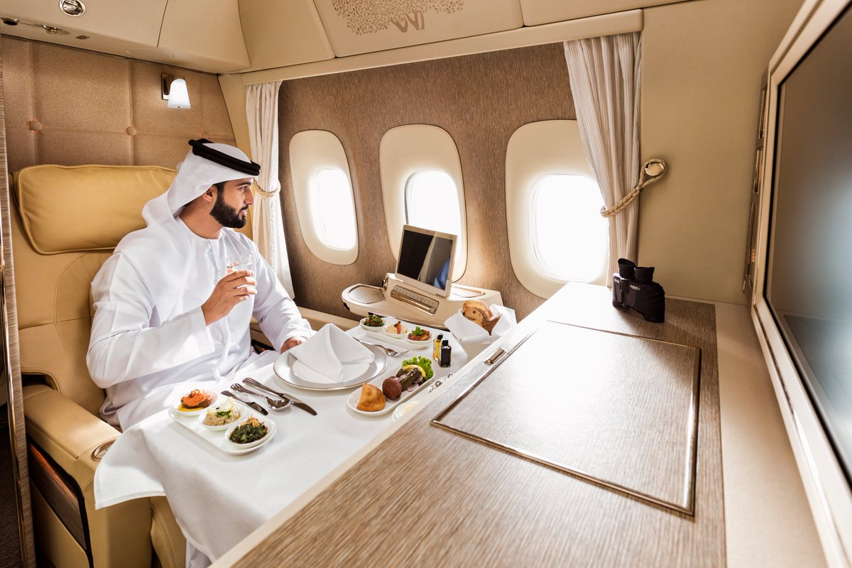 Emirates brand new cabins like 5 star hotel