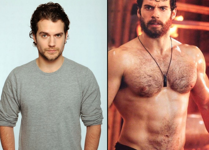 Hollywood actors that put on muscle