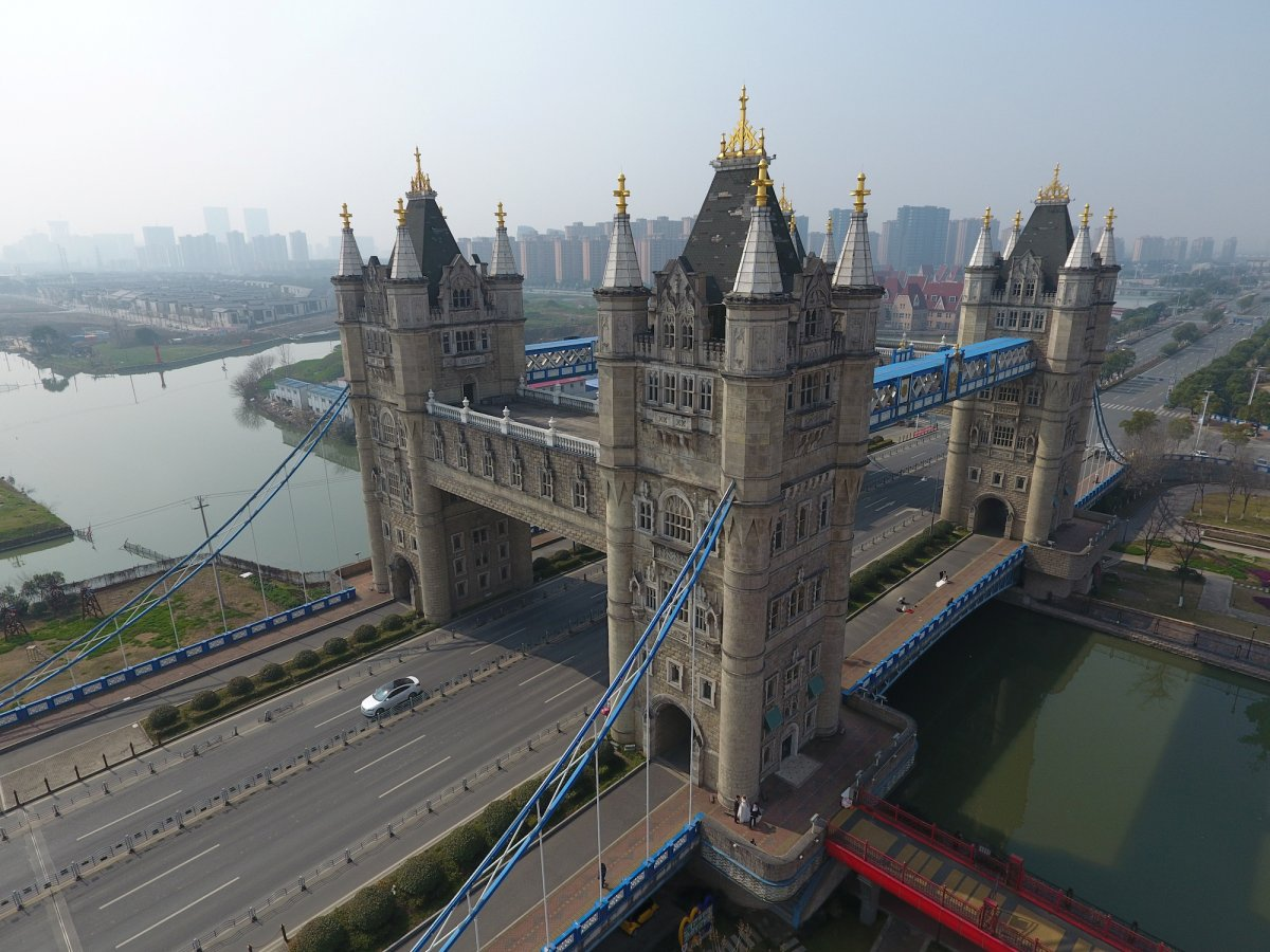 China landmarks copied from the world