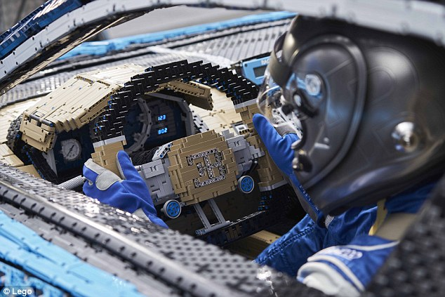 Lego built supercar that can drive