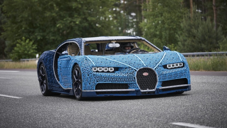 Lego built supercar that can drive