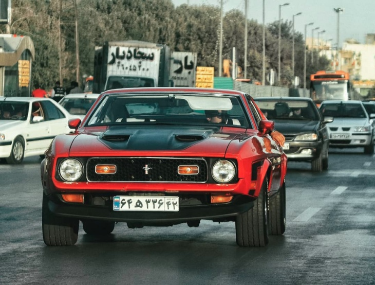 Collection of vintage Muscle cars in the capital