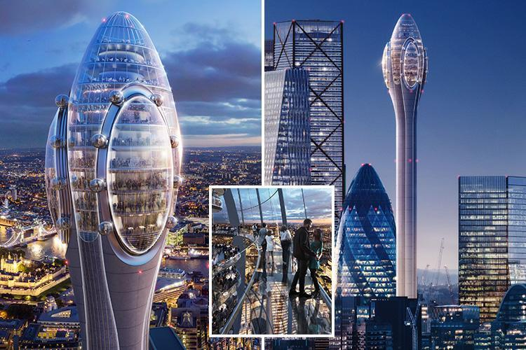 New Tulip Tower in London