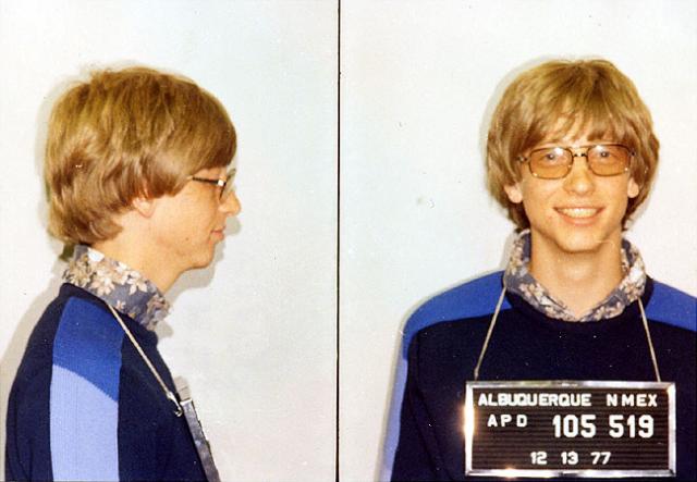 When Bill Gates was pulled over for speeding in his Porsche