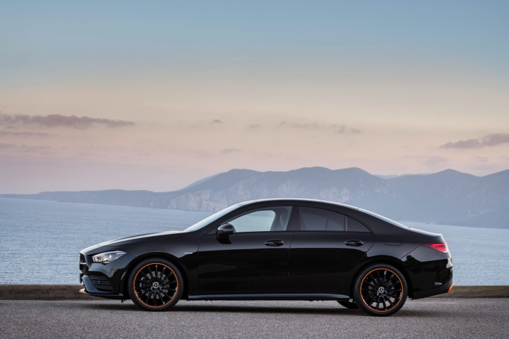 All new 2019 Mercedes CLA coupe