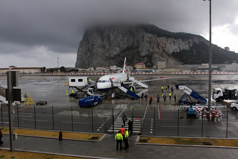Gibraltar airport is like no other