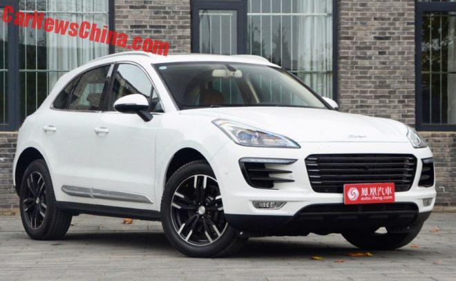 New Chinese car clone of popular Porsche