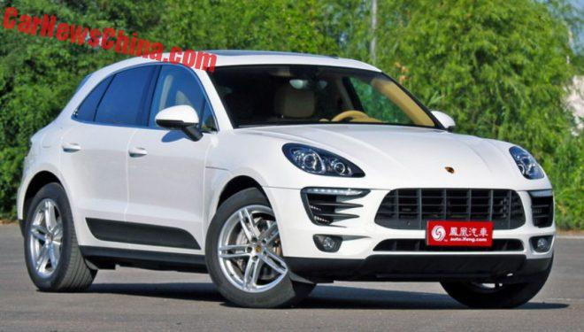 New Chinese car clone of popular Porsche
