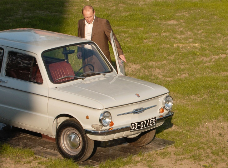 8 cars Vladimir Putin has taken for a spin