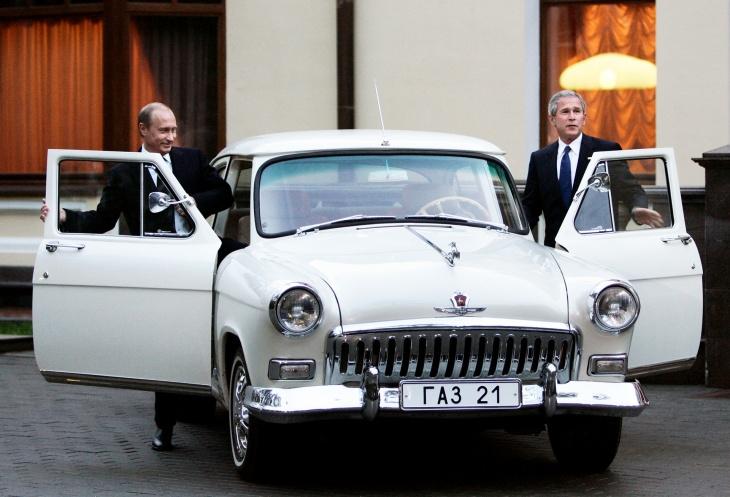 8 cars Vladimir Putin has taken for a spin
