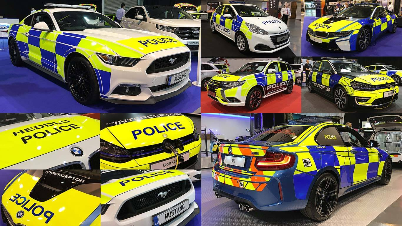 UK police cars include hybrid and super cars