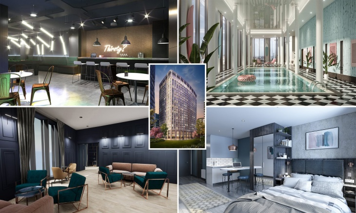 Affordable, luxury co-living apartments in London