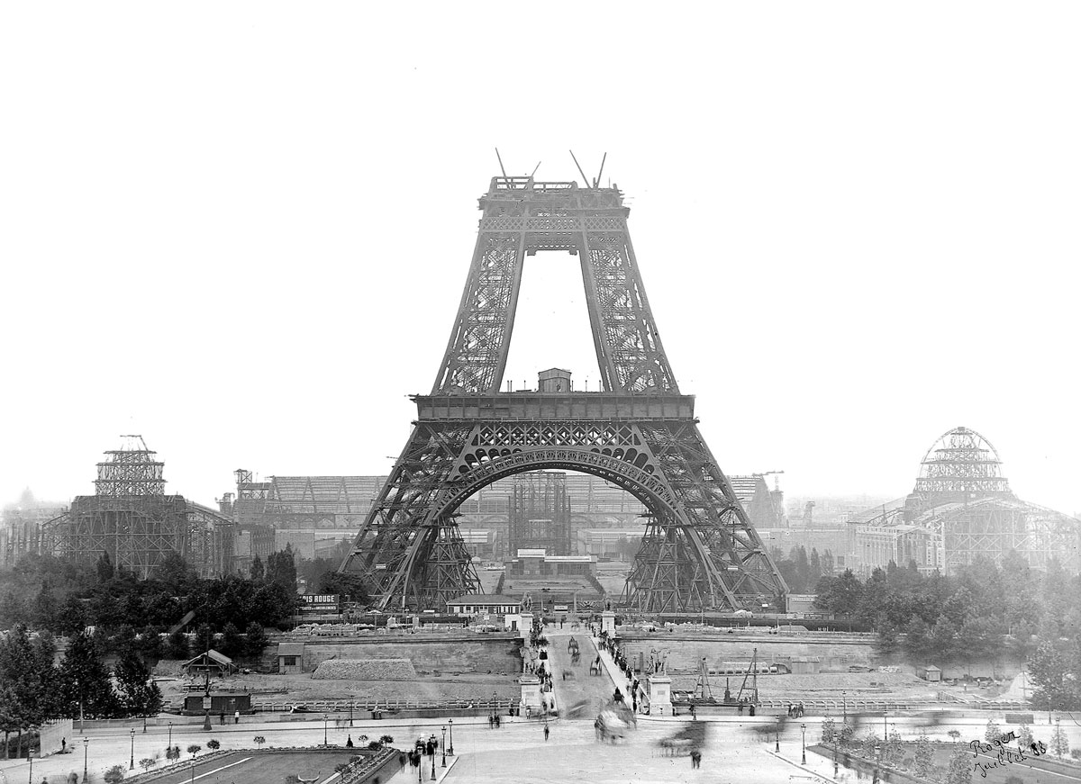 Historical landmarks while under construction
