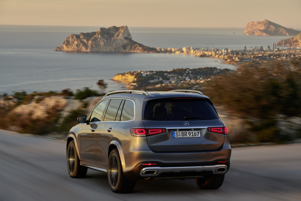 All-new 2020 Mercedes SUV GLS for $130,000