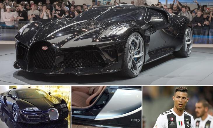 Cristiano Ronaldo buys world's most expensive car