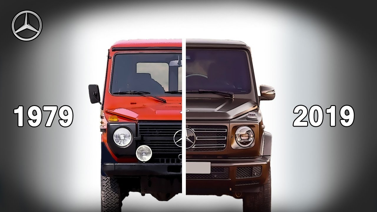 Revolution of the famous Mercedes G-Class