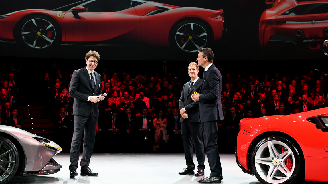 First ever Ferrari Plug-in Hybrid