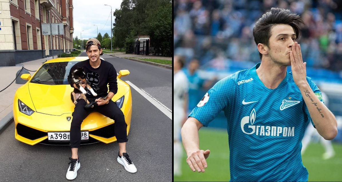 Sardar Azmoun and his new $240k Lamborghini