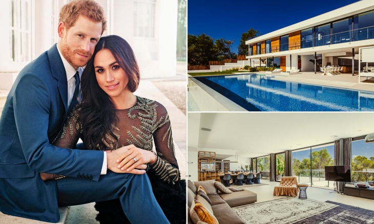 Prince Harry and Meghan's beautiful resort in Ibiza