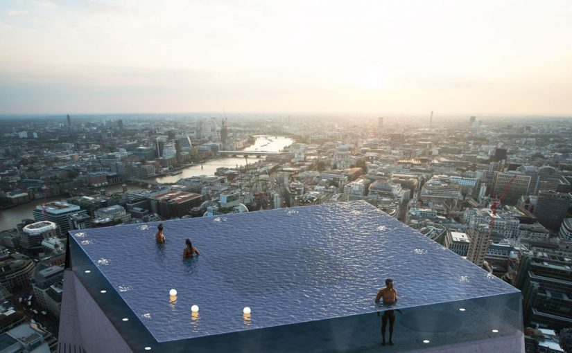 London to get world's first 360 infinity roof pool