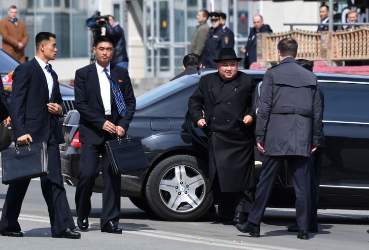 How did King Jong Un get his Mercedes?