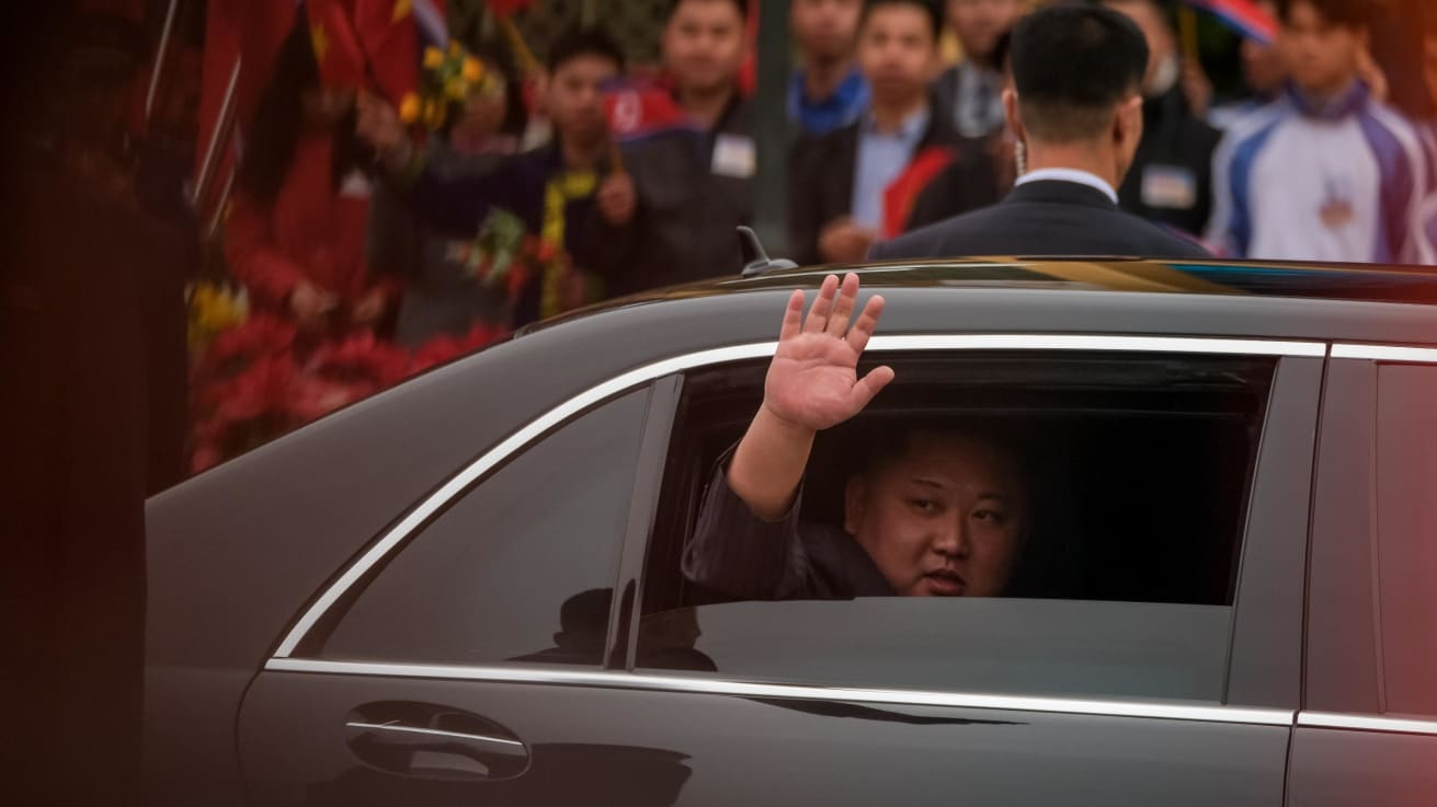 How did King Jong Un get his Mercedes?