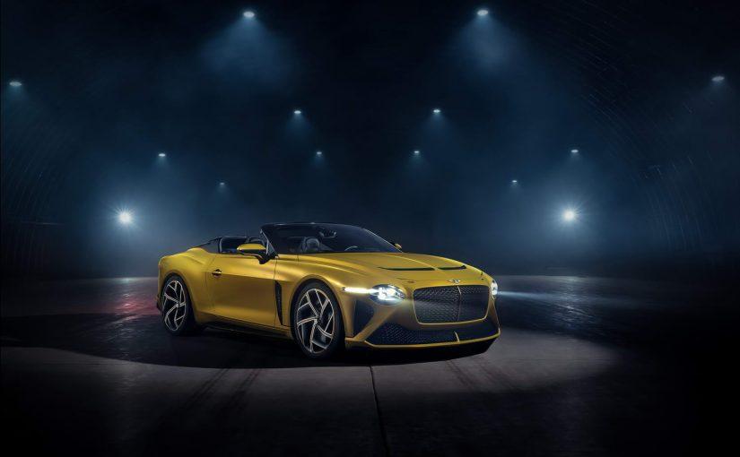 Bentley unveils stunning $2million roofless car
