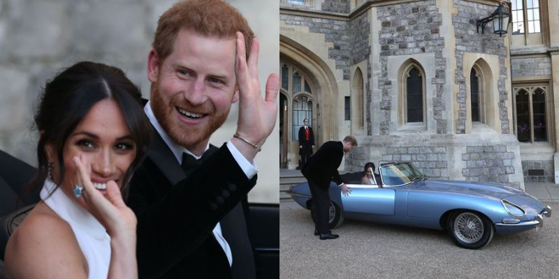 Facts about Harry and Meghan's wedding car
