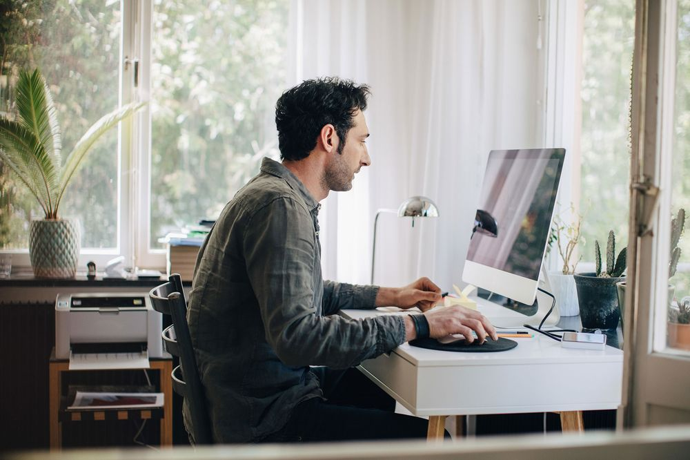 Tips for working from home, to avoid the virus